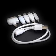 5 i 1 universal USB rejsekabler