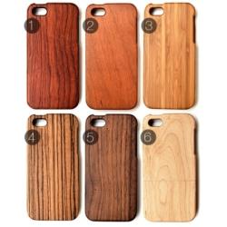 6 sorter af træ