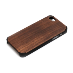 Nordisk iPhone 5se cover af walnut