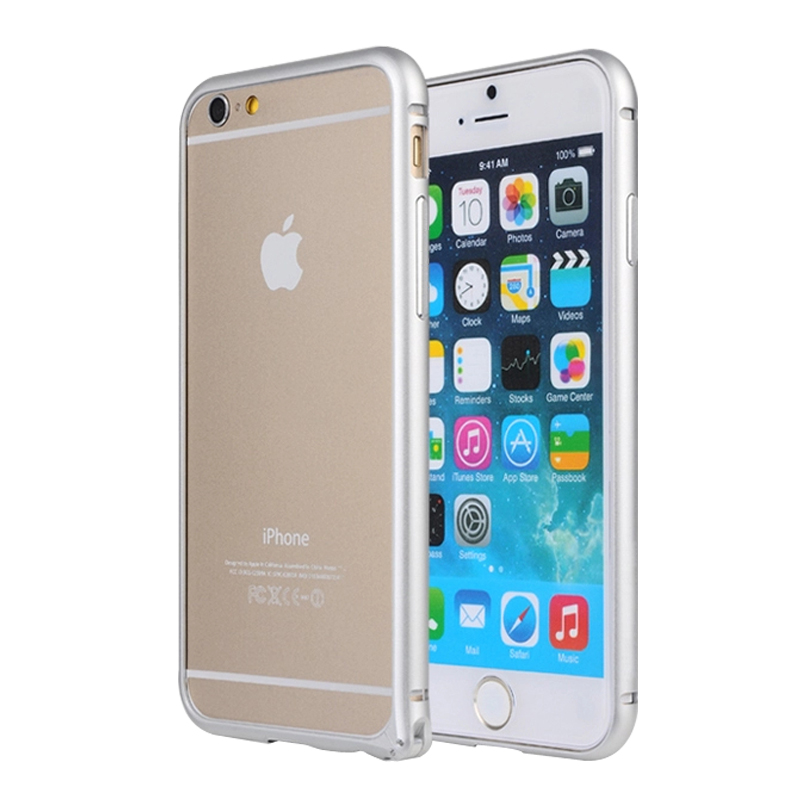 iPhone 6 bumper slim fit med Panserglas -2