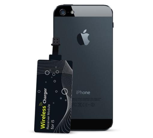 iPhone 5-6 Qi trådløs opladning 6