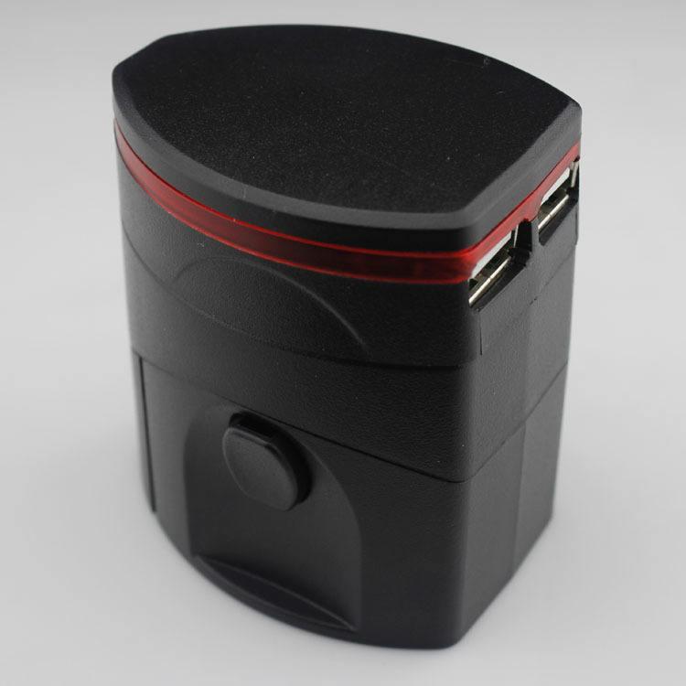 Rejseadapter multi stik med USB3