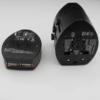 Rejseadapter multi stik med USB2