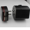 Rejseadapter multi stik med USB1