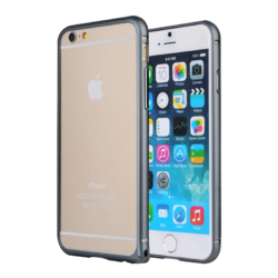 iPhone 6 PLUS bumper slim-fit dark silver