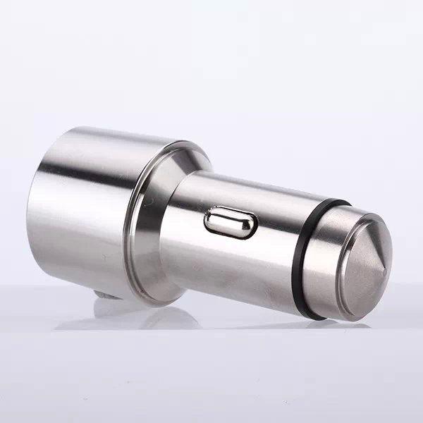 Stilfuld dobbelt USB bil adapter 1