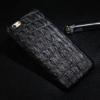 iPhone 5 cover sort krokodille læder 4