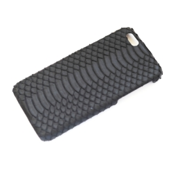 iPhone 6 cover black water snake mat sort  2