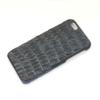 iPhone 5 cover sort krokodille læder 2