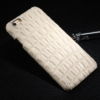 iPhone 5 cover hvid krokodille 7
