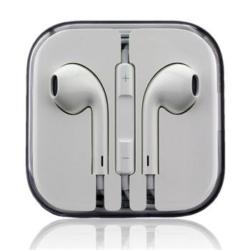 iPhone headset hvid med fjernbetjening 1