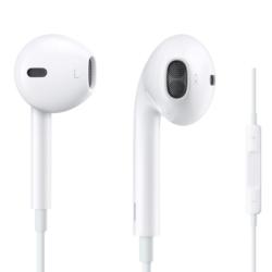 iPhone headset hvid med fjernbetjening 2