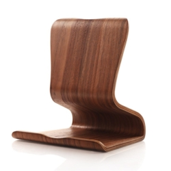 Wooden chair stand iPad eller MacBook