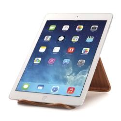 Wooden chair stand iPad eller MacBook 2