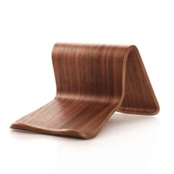 Wooden chair stand iPad eller MacBook 1