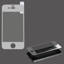 iPhone glas titanium BSP iPhone 4 SILVER