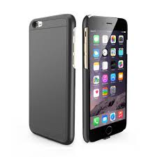 iPhone 6 PLUS Qi slim-fit cover mat sort