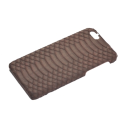 iPhone 6 cover water snake mat brun