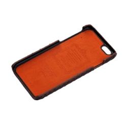 iPhone 6 cover water snake mat brun 1