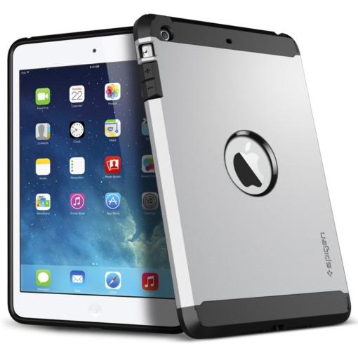 Hybrid slim-fit iPad Air cover case sølv 4