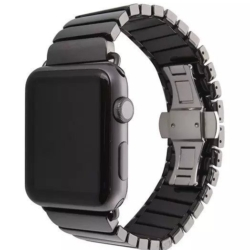 Matsort keramisk urrem Apple Watch 42mm