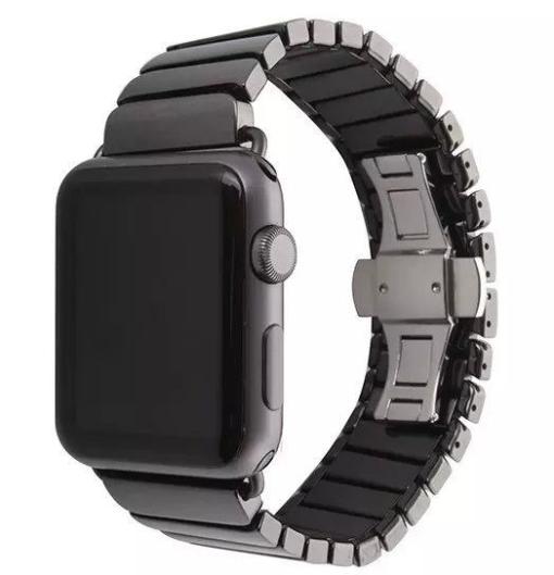 Mat sort keramik urrem Apple Watch 38mm 4