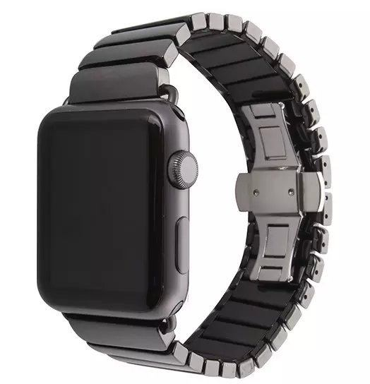 Mat sort keramik urrem Apple Watch 38mm 4