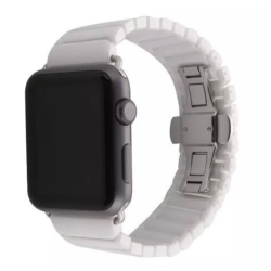 Hvid keramisk urrem Apple Watch 42mm