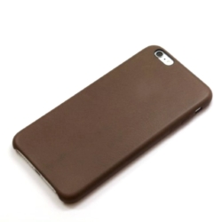 iPhone 6s slim-fit brunt læder cover