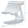 iPad holder universal aluminium stand 5