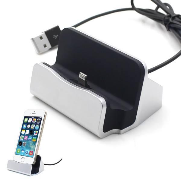 iPhone 5-6 opladerstation med cover plads 3