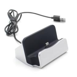 iPhone 5-6 opladerstation med cover plads 6