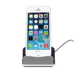 iPhone 5-6 opladerstation med cover plads 7