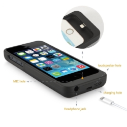Power cover slim-fit iPhone 5s mat sort 2