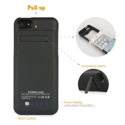 Power cover slim-fit iPhone 5s mat sort 5