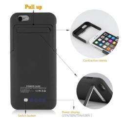 Power cover slim-fit iPhone 6s mat sort 5