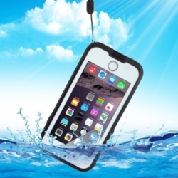 Waterproof iPhone 6s PLUS Redpepper case black A