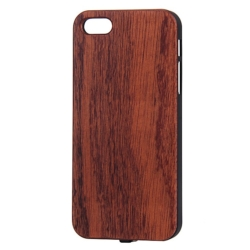 Wooden Qi cover iPhone 5se 2