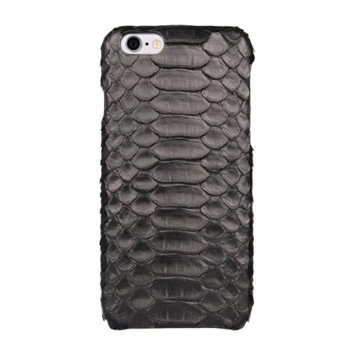 iPhone 6 sort slangeskind cover imiteret 1