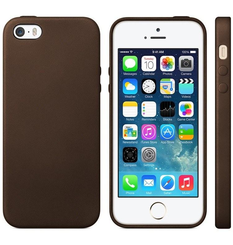 iPhone 6s PLUS slim-fit cover brunt læder