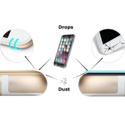 BSP Gorilla 3D glas iPhone 6s plus HVID