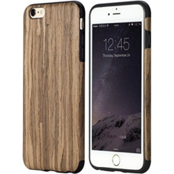 iPhone 6s soft wooden unika cover walnut