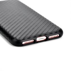 iPhone X carbon fiber soft cover SORT