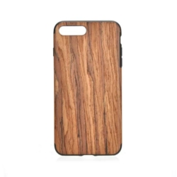 iPhone 7 PLUS soft wooden unika cover walnut