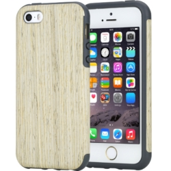 iPhone 7 soft wooden unika cover white