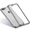 iPhone 7-8 PLUS transparent soft cover SILVER