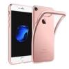iPhone 7-8 PLUS transparent soft cover GOLD