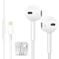 iPhone 7 lightning headphone stereo in-ear 2
