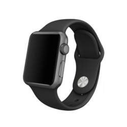 Apple Watch fitness silikone urrem 38mm sort 4