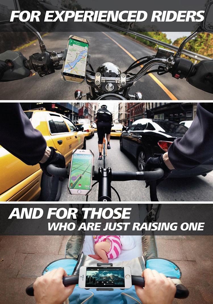 Universal cykelholder til din iPhone 4 5